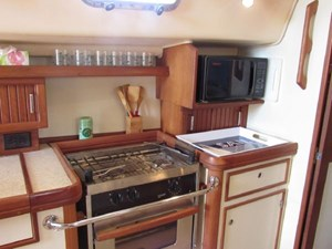 Second Wind 34 Galley