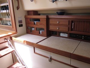 Second Wind 35 Galley