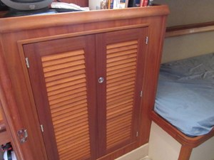 Second Wind 42 Aft Cabin Cabinetry