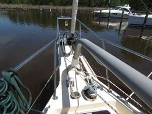 Second Wind 49 Bow Pulpit