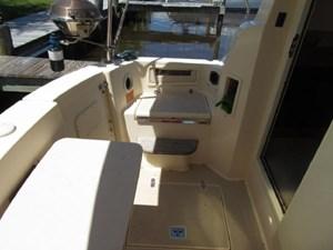 Second Wind 56 Aft Cockpit