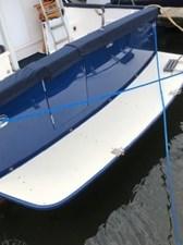 1999 Legacy Yachts 40 Sedan 8 Swim Platform & Transom Gate