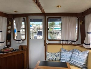 Looking Aft w/PH Door to Aft Deck