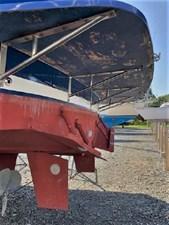 1999 Legacy Yachts 40 Sedan 38 Swim Platform Structure