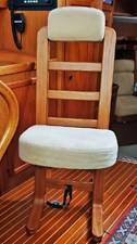 Adjustable Teak Helm Seat