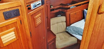 Aft Cabin from Pilothouse