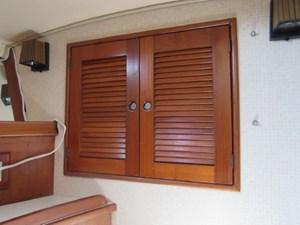 Door to anchor locker