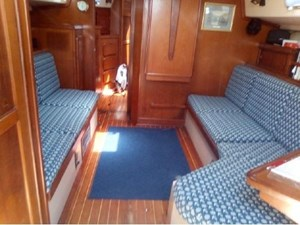 Main Saloon from the companionway