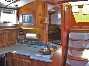 Looking Aft over Galley