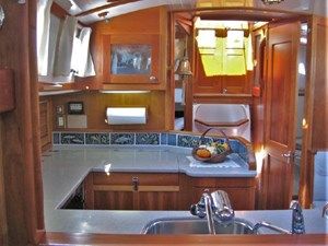 Galley from Forward Cabin