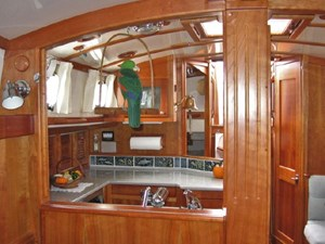 Looking Aft from Forward Cabin
