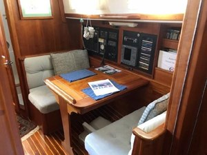 Looking Aft onto Dining/Nav Table