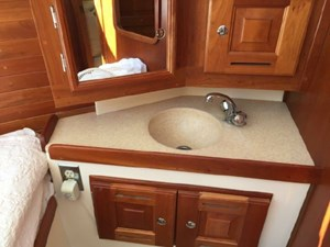Forward stateroom sink