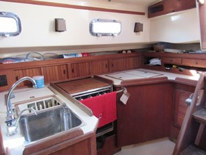 Galley With Good Ventilation