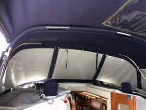 CHEEKY MONKEY 5 Dodger w/ window covers, Bimini and full enclosure