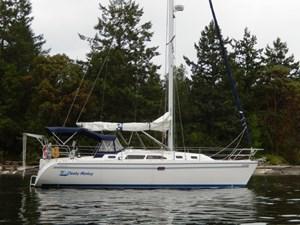 CHEEKY MONKEY 33 At Anchor