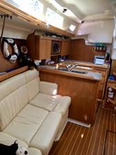 CHEEKY MONKEY 43 Starboard Interior