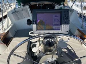 Cockpit - wheel view
