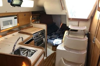 Galley, Aft Cabin Entry & Companionway