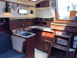 Galley and Companionway