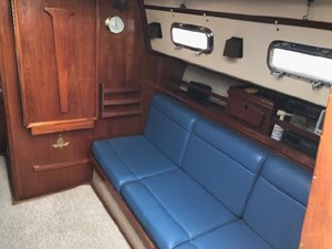 Starboard Side Saloon w/Table Stored