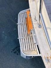 Custom Swim Platform & Ladder