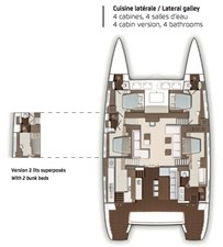 L630 layout - 4 cabins