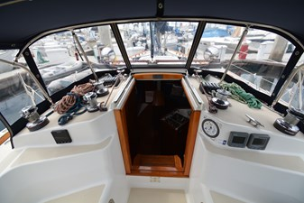 Companionway and Winches