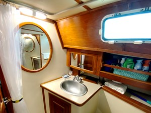 head 1 with shower, sink, commode