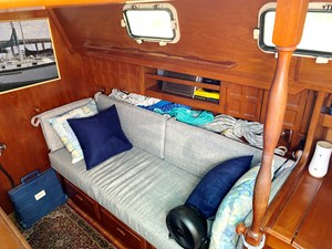 starboard saloon settee
