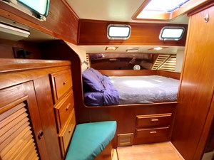 Large aft cabin double