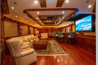 Main Deck Salon with TV Down