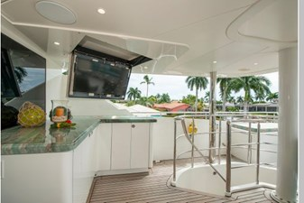 Helm Deck Bar and TV