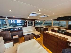 HH Catamarans OC50 14 OC50 Salon looking Starboard