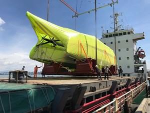 HH Catamarans OC50 24 OC50 loading on ship