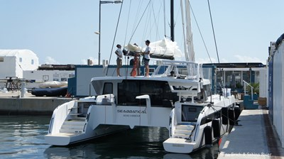 HH Catamarans OC50 28 OC50 mast steps