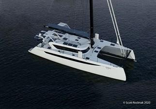 HH Catamarans HH55 0 Utopia Annapolis drone 1