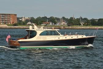 BIG DECISION 22 Starboard Profile