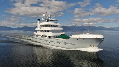 141' Expedition Yacht MARCATO running2