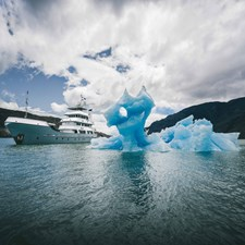 141' Expedition Yacht MARCATO in ice