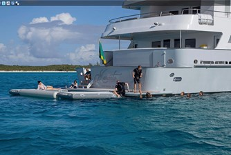 141' Expedition Yacht MARCATO swim platform
