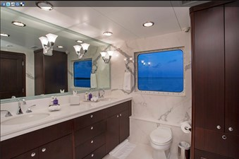 141' Expedition Yacht MARCATO master bath