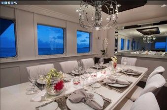 141' Expedition Yacht MARCATO dining 2