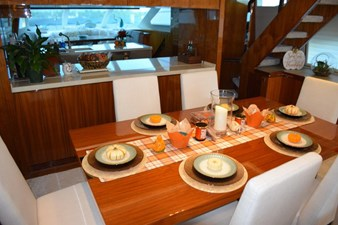 Dining view towards Galley