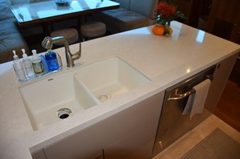 Galley sink and dishwasher