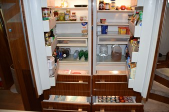 SubZero side by side plus drawers
