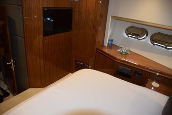 Forward stateroom aft view