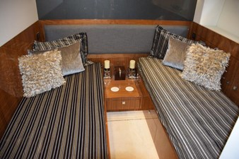 Guest stateroom, beds can be moved together