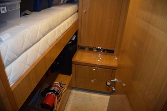 Upper - Lower berth crew stateroom, also a double berth Capt. cabin (not pictured)