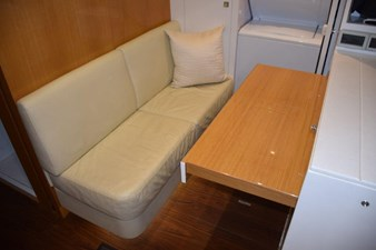 Crew lounge aft, slide out table